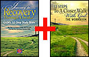 Combo: Twelve Steps to a Closer Walk with God: The Workbook, 3rd Edition & Journey to Recovery Through Christ: CASA's 12-Step Study Bible